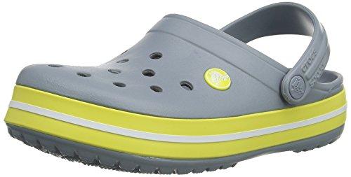 Womens Crocs Mule Crocband Chartreuse Concrete Uxqzxd