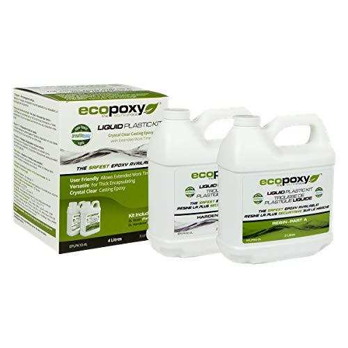 EcoPoxy Liquid Plastic 12 Liter - 2:1 Ratio Mix NEW