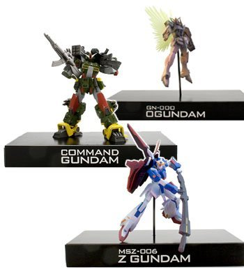 Gundam series prefabricated Gundam War Collection 2 all three set
