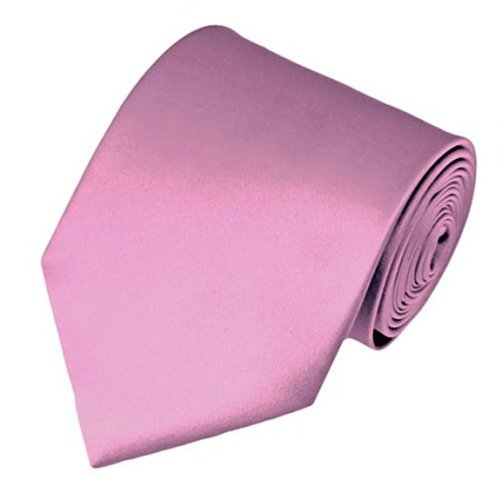 Brand New Men's Solid Color Formal Neck tie Polyester- 57 x 3.5 inches By Romario Manzini- Many Vibrant Colors
