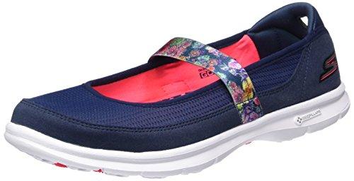Donna Go Ballerine Blu Skechers nbsp;Bloom Step Nvcl Blu xFzHA7q