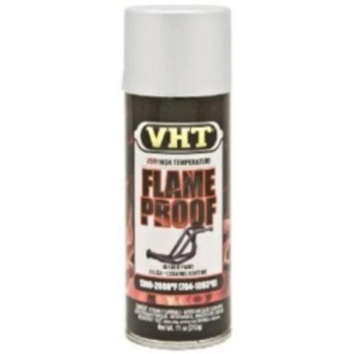 Duplicolor High Temp Exhaust Flameproof Paint, VHT Flat Silver, Pt# SP106, sp 106 (1)