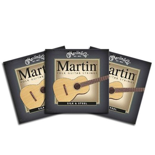 Martin & Co. M200 Folk Guitar 12 Strings Xl 3 Packs