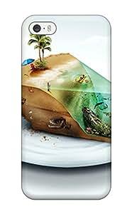 Iphone 5/5s Slice Of Heaven Print High Quality Tpu Gel Frame Case Cover
