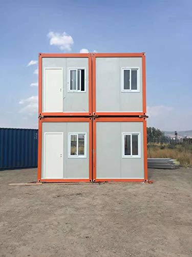 Weizhengheng Modular Flat Pack Living Prefab Container House 20FTset of 5