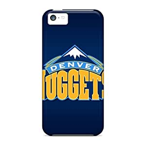 FlowerCase Design High Quality Denver Nuggets Cover Case With Excellent Style For Iphone 5c
