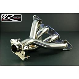 Weapon-R 953-116-102 Race Header, Stainless Steel
