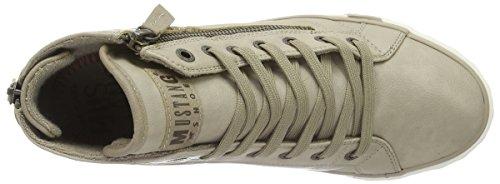Mustang 1209-502-243, Zapatillas Altas para Mujer Blanco (243 ivory)