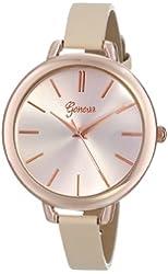 Geneva Women's 8179B-GEN Rose-Gold Tone Watch