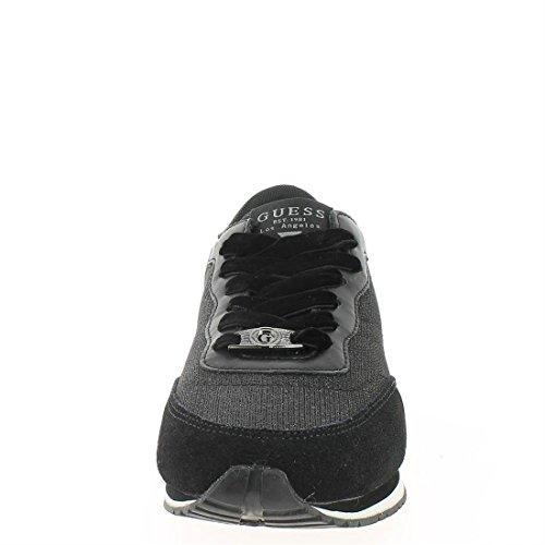 Sunny 37 Active Cotton Black Scarpa Footwear Guess Donna Flsun3fab12black ERwIH