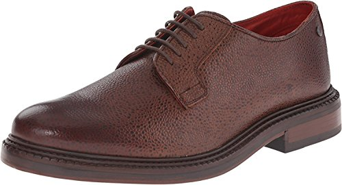 Base London Herren Niedrig Scotch Grain Brown-Derby