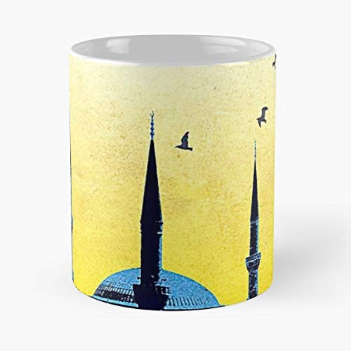 Blue Mosque Istanbul Turkey Vintag Mugs Best Gift