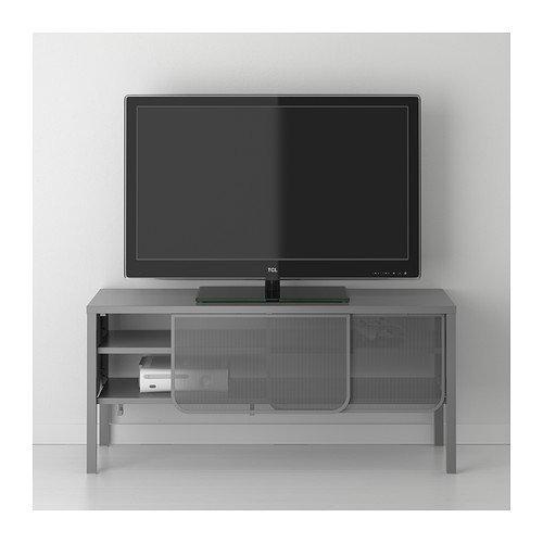 Ikea Nittorp Tv Bench Dunkelgrau 122 X 55 Cm Amazonde Küche