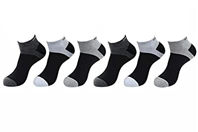 Calvin Klein Men's 6-Pairs Cushioned Sole Athletic Liner Low Cut Socks Sz: 7-12