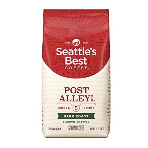 (Seattle's Best Coffee Post Alley Blend (Previously Signature Blend No. 5) Dark Roast Ground Coffee, 12-Ounce Bag)