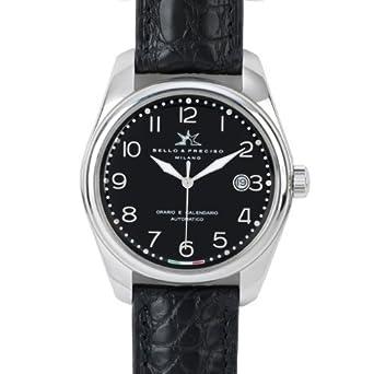 Bello & Preciso italienische Armbanduhr Modell 39 Nero