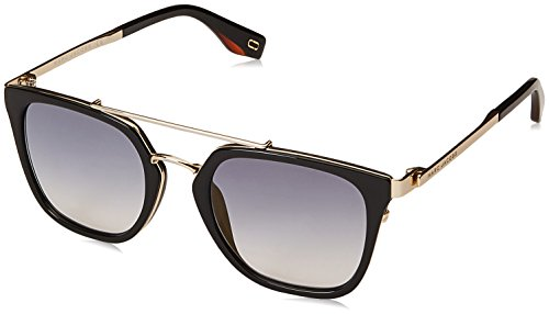 Marc Jacobs sunglasses (MARC-270-S 807/1V) Shiny Black - Gold - Blue Gradient with Mirror effect lenses