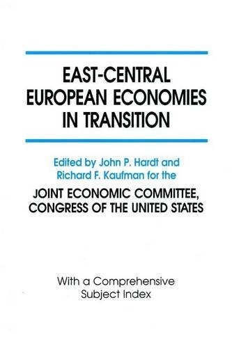 East-Central European Economies in Transition