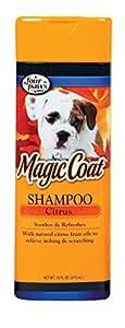Four Paws Magic Coat Organic Citrus Dog Grooming Shampoo, 16 oz