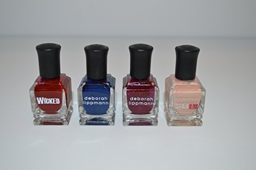 4 NEW Mini Deborah Lippmann 0.27 Fl Oz Nail Lacquer