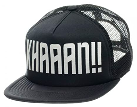 STAR TREK KHAAAN!! Mesh Snapback Trucker CAP  HAT fe532057753