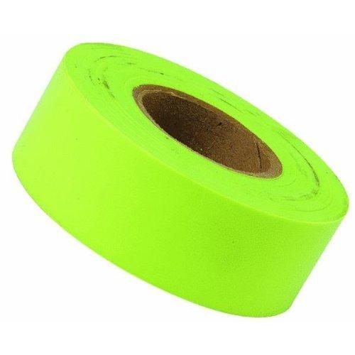 CH Hanson 17001 Flagging Tape Lime Fluorescent- 1.18'' X 150'