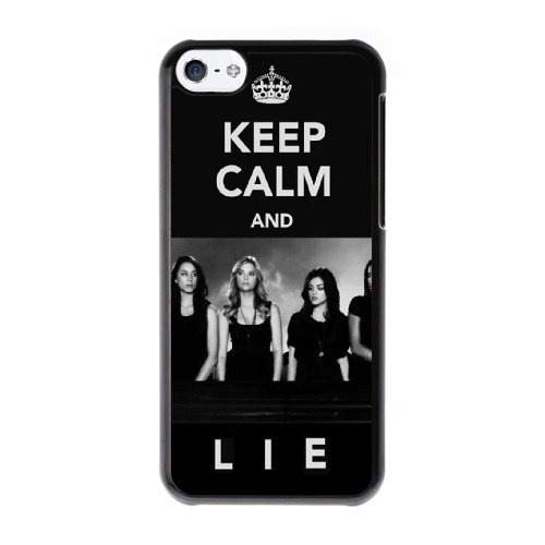 Coque,Coque iphone 5C Case Coque, Pretty Little Liars Theme Song Cover For Coque iphone 5C Cell Phone Case Cover Noir