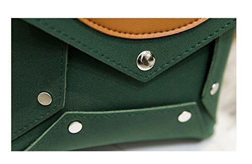 De El Red Costura Ocio Bolsos Hombro Colores Paquete Bolsos Green De Pulse Exfoliación De GSHGA Mano FwxB7qAw