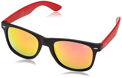 Dice Lunettes de soleil Taille unique Clear/Hot Red cmK8lVqPb