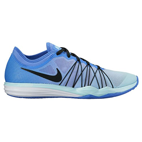 New Nike Women's Dual Fusion TR HIT Cross Trainer Blue/Bl...