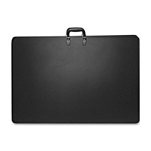 Anglers - Art Portfolio, 2 Top Handles, 37''x3-1/2''x25'', Black, Sold as 1 Each, ANG AP92L3XBK by Anglers