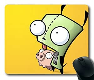 Gir And Piggy Invader Zim Mouse Pad/Mouse Mat Rectangle by ieasycenter