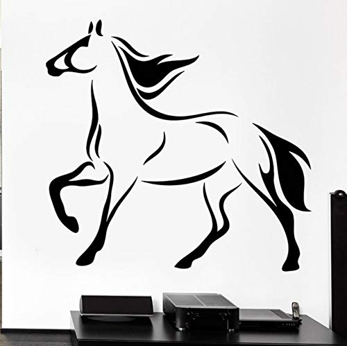 Ponana Horse Mane Mare Wall Decals Racehorse Hooves for sale  Delivered anywhere in Canada