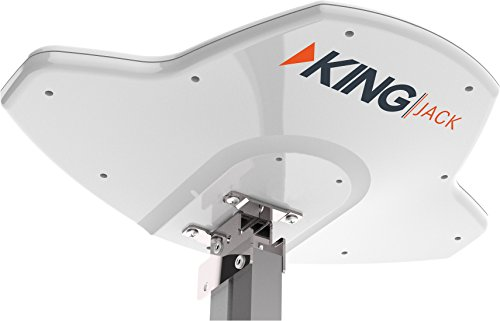 KING OA8300 Jack Replacement Head HDTV Directional Over-the-Air Antenna - White