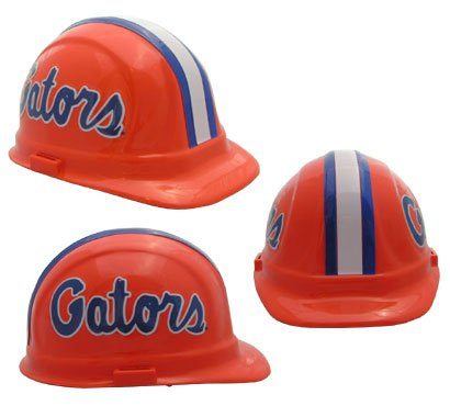 NCAA Florida Gators Hard Hats with Ratchet Suspension 1