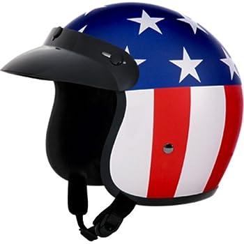 Amazon Com Torc T50 Route 66 3 4 Helmet With Rebel