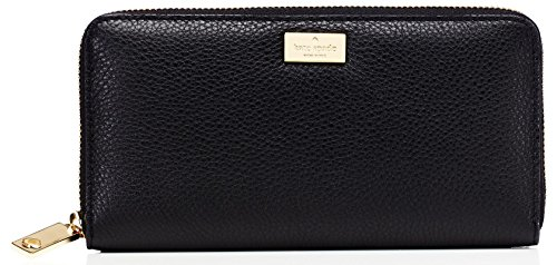 - kate spade new york Highland Place Neda Zip Around Wallet, Black