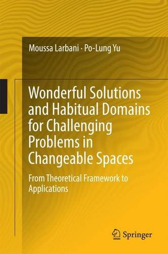 Wonderful Solutions and Habitual Domains for Challenging Problems in Changeable Spaces: From Theoretical Framework to Applications