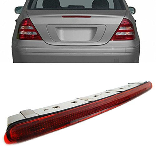 - Heart Horse Rear Third Brake Light LED Red for Mercedes Benz C-Class W203 2000 2001 2002 2003 2004 2005 2006 2007