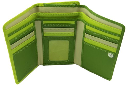 visconti-rb43-multi-colored-large-trifold-soft-leather-ladies-wallet-purse-green-multi