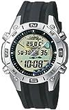 CASIO AMW-702-7AVEF - Reloj de caballero de cuarzo, correa de resina color negro