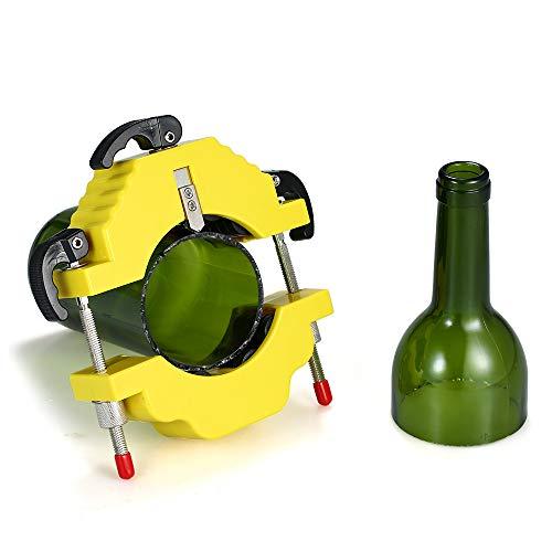 mewmewcat Botella de Vidrio Cortador de Botellas de Bricolaje Herramienta de Corte para Vino Cerveza Botellas de champán…