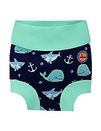 Baby Swimming Nappy Kids Reusable Swim Diaper Girls Costume Boys Swimshorts