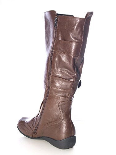 Damen Winter Stiefel Braun # 9272