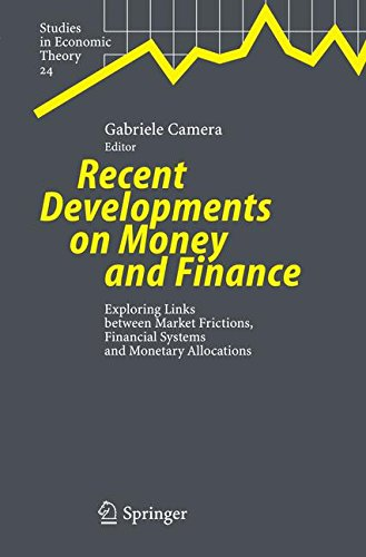 Recent Developments on Money and Finance: Exploring Links between Market Frictions, Financial Systems and Monetary Alloc