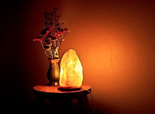 Dia Himalayan Natural Air Purifier Salt Lamp Rock Crystal Tower 6-8inch - Buy Online in UAE ...