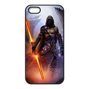 Sith Fantasy iPhone5s Cell Phone Case Black TPU Phone Case SV_230551