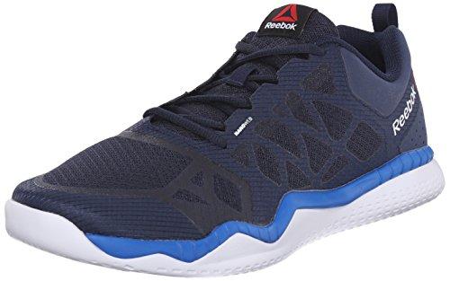 Reebok Men's Zprint Train Training Shoe, Collegiate Navy/Blue Sport/White, 10 M US ZPrint Train-M