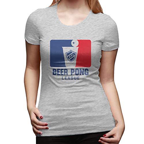 Beer Pong Women's T-Shirt Gray