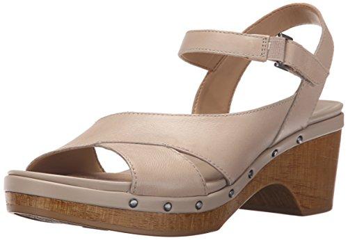 Naturalizer Women's Geneva Platform Sandal, Taupe, 8 M - Comfort Sandal Womens